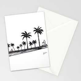 Landscape where peace is present Stationery Cards