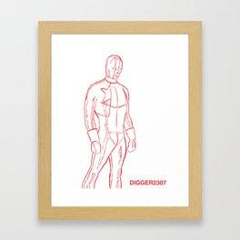 Supersketch Framed Art Print
