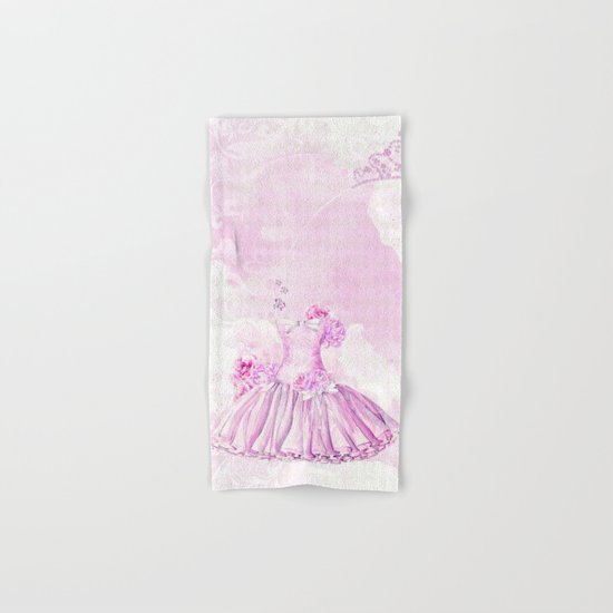 Ballerina #3 Hand & Bath Towel