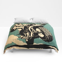 Motorcycle Race Comforters