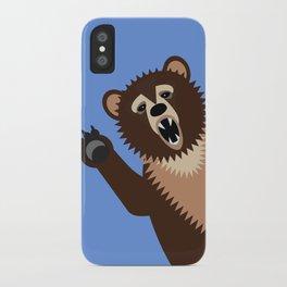Big Bad Bear iPhone Case