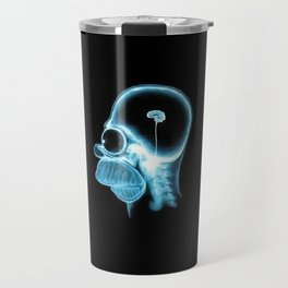 Homer Brain Travel Mug