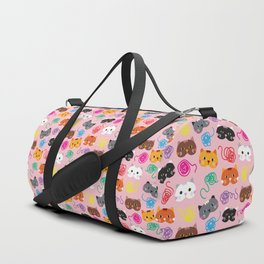 Cats Love String I Duffle Bag