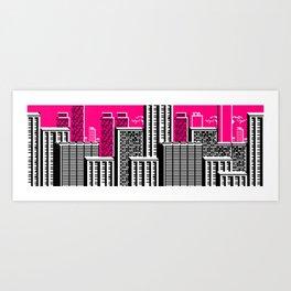 Cityscape #101 Art Print