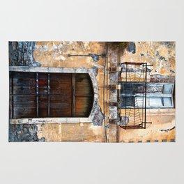 Sicilian facade of Taormina Rug