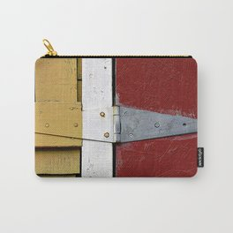 Isosceles Triangles on Wood Carry-All Pouch