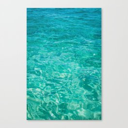 Cabo Water Canvas Print