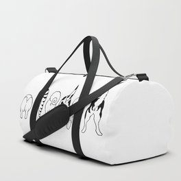 Dog Butts Duffle Bag