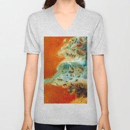 The Oasis (Color) Unisex V-Neck