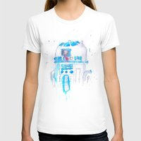 r2d2 T-shirts featuring R2D2 by sooarts