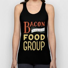 Bacon is a Food Group Unisex Tank Top