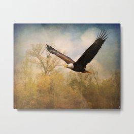 Monarch of the Skies Metal Print