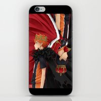 haikyuu iPhone & iPod Skins featuring HAIKYUU!! - KINGS by zero0810