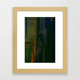 Verticals Framed Art Print