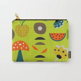 Modern decor with fruits and flowers Carry-All Pouch