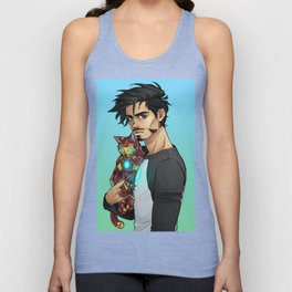 ARMOURED CAT Unisex Tank Top