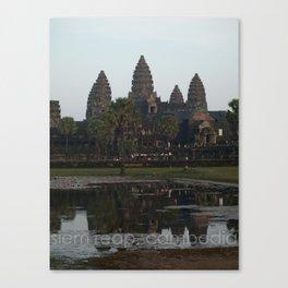 siem reap, cambodia Canvas Print