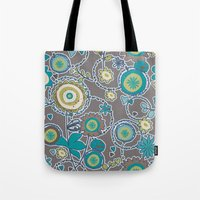 ladybug Tote Bags featuring Ladybug by Robin Curtiss