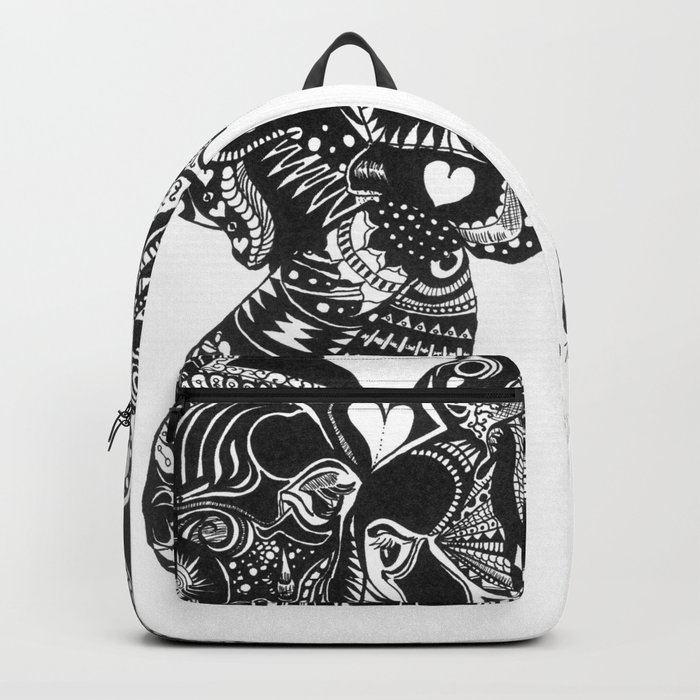 Elephants in Robyntangle of Love Backpack