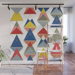 Triangular Affair Wall Mural