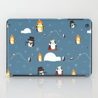 penguins iPad Cases featuring Penguins by S. Vaeth