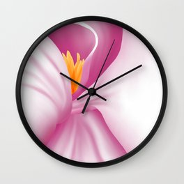 An Intimate View of Magnolia Wall Clock