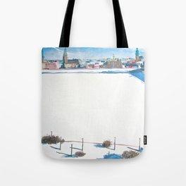 Frozen Rīga II Tote Bag