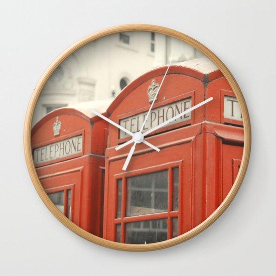 Telephone Wall Clock