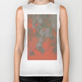 Faceted Vibes Biker Tank