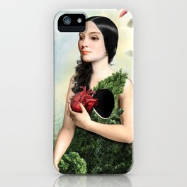 Give Me Your Heart iPhone Case