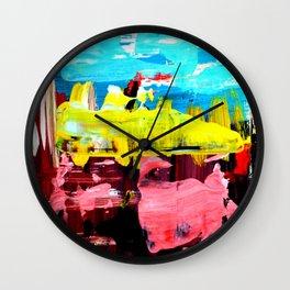 Color Abstract 4 Wall Clock