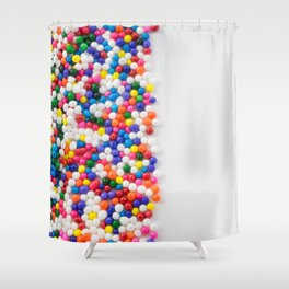Birthday Sprinkles Shower Curtain