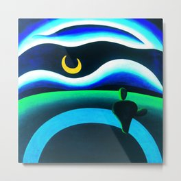 La Luna by Tarsila do Amaral Metal Print