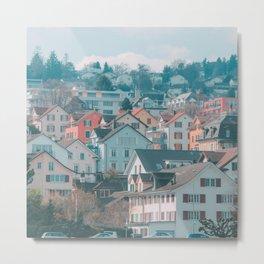 Zurich Gold Coast Metal Print