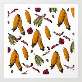 Wild Maize Art Print