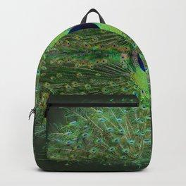 Peacock Wheel Backpack