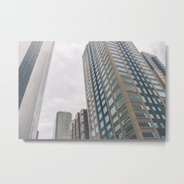 So Small in the City Metal Print