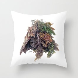 Colors of the Cypress Throw Pillow