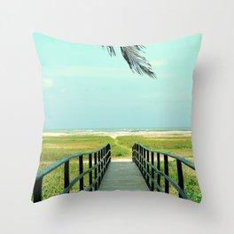 To Paradise Throw Pillow