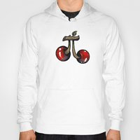 pie Hoodies featuring Cherry Pie by Carlos Rocafort