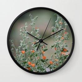 Desert Wildflower - 2 Wall Clock