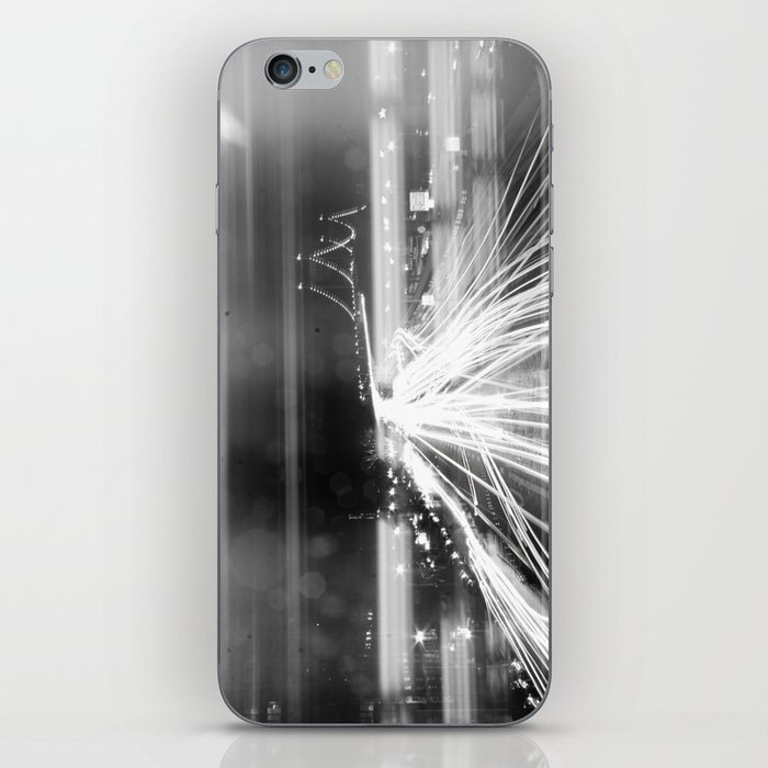 The Night Vibes Electric iPhone Skin