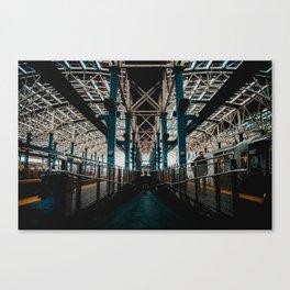 Coney Island Subway Station Canvas Print