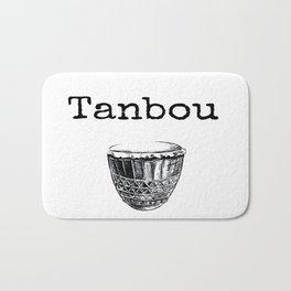 Tanbou(white) Bath Mat