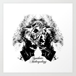 Synthetic Anthropology Art Print