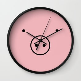 PIGGY PIGGY Wall Clock
