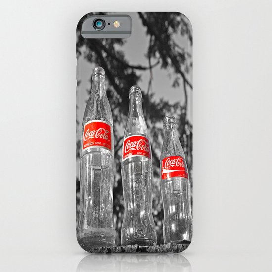 Classic soda bottles iPhone & iPod Case