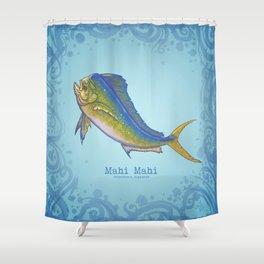 Mahi Mahi ~ Coryphaena hippurus ~ (Copyright 2015) Shower Curtain
