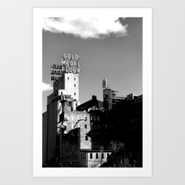Gold Medal Flour, Minneapolis Art Print