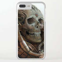 The Timetraveller II Clear iPhone Case
